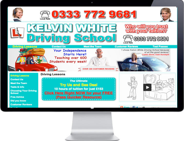 kelvinwhitedrivingschool.co.uk