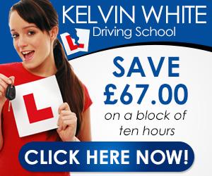 Kelvin White Driving School Website